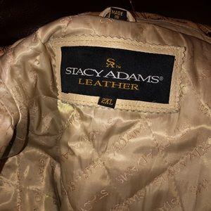 Stacy Adams Men's leather jacket 🔥 Size 2x